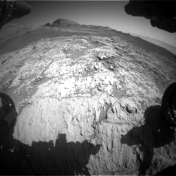 Nasa's Mars rover Curiosity acquired this image using its Front Hazard Avoidance Camera (Front Hazcam) on Sol 3136, at drive 774, site number 88
