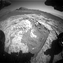 Nasa's Mars rover Curiosity acquired this image using its Front Hazard Avoidance Camera (Front Hazcam) on Sol 3136, at drive 786, site number 88