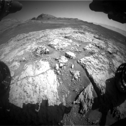 Nasa's Mars rover Curiosity acquired this image using its Front Hazard Avoidance Camera (Front Hazcam) on Sol 3136, at drive 792, site number 88