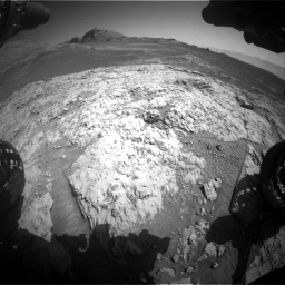 Nasa's Mars rover Curiosity acquired this image using its Front Hazard Avoidance Camera (Front Hazcam) on Sol 3136, at drive 798, site number 88