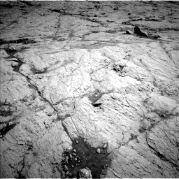 Nasa's Mars rover Curiosity acquired this image using its Left Navigation Camera on Sol 3136, at drive 372, site number 88