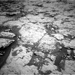 Nasa's Mars rover Curiosity acquired this image using its Left Navigation Camera on Sol 3136, at drive 504, site number 88