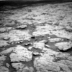 Nasa's Mars rover Curiosity acquired this image using its Left Navigation Camera on Sol 3136, at drive 534, site number 88