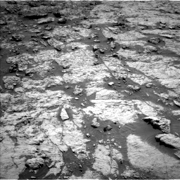 Nasa's Mars rover Curiosity acquired this image using its Left Navigation Camera on Sol 3136, at drive 630, site number 88