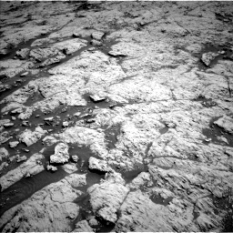 Nasa's Mars rover Curiosity acquired this image using its Left Navigation Camera on Sol 3136, at drive 654, site number 88