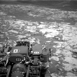 Nasa's Mars rover Curiosity acquired this image using its Left Navigation Camera on Sol 3136, at drive 690, site number 88