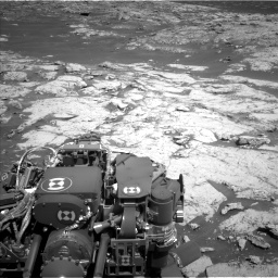 Nasa's Mars rover Curiosity acquired this image using its Left Navigation Camera on Sol 3136, at drive 714, site number 88