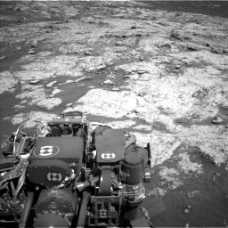 Nasa's Mars rover Curiosity acquired this image using its Left Navigation Camera on Sol 3136, at drive 750, site number 88