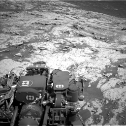 Nasa's Mars rover Curiosity acquired this image using its Left Navigation Camera on Sol 3136, at drive 756, site number 88