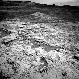 Nasa's Mars rover Curiosity acquired this image using its Left Navigation Camera on Sol 3136, at drive 762, site number 88