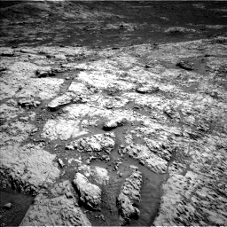 Nasa's Mars rover Curiosity acquired this image using its Left Navigation Camera on Sol 3136, at drive 780, site number 88