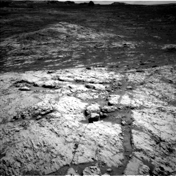 Nasa's Mars rover Curiosity acquired this image using its Left Navigation Camera on Sol 3136, at drive 792, site number 88