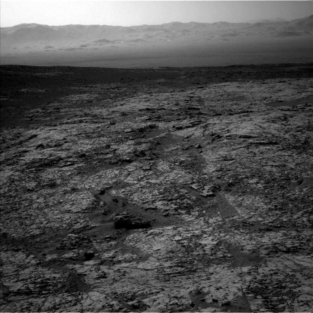 Nasa's Mars rover Curiosity acquired this image using its Left Navigation Camera on Sol 3136, at drive 804, site number 88