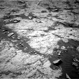 Nasa's Mars rover Curiosity acquired this image using its Right Navigation Camera on Sol 3136, at drive 570, site number 88