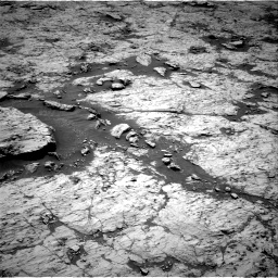 Nasa's Mars rover Curiosity acquired this image using its Right Navigation Camera on Sol 3136, at drive 576, site number 88