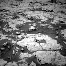 Nasa's Mars rover Curiosity acquired this image using its Right Navigation Camera on Sol 3136, at drive 600, site number 88