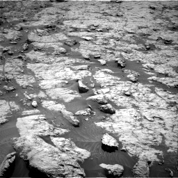 Nasa's Mars rover Curiosity acquired this image using its Right Navigation Camera on Sol 3136, at drive 618, site number 88