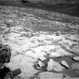 Nasa's Mars rover Curiosity acquired this image using its Right Navigation Camera on Sol 3136, at drive 636, site number 88