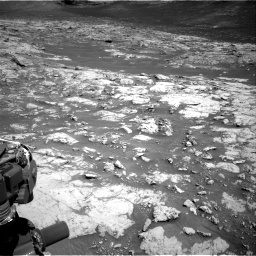 Nasa's Mars rover Curiosity acquired this image using its Right Navigation Camera on Sol 3136, at drive 678, site number 88