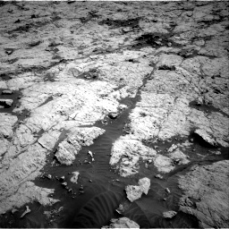 Nasa's Mars rover Curiosity acquired this image using its Right Navigation Camera on Sol 3136, at drive 702, site number 88