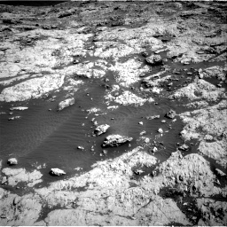 Nasa's Mars rover Curiosity acquired this image using its Right Navigation Camera on Sol 3136, at drive 738, site number 88