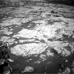 Nasa's Mars rover Curiosity acquired this image using its Right Navigation Camera on Sol 3136, at drive 750, site number 88