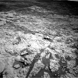 Nasa's Mars rover Curiosity acquired this image using its Right Navigation Camera on Sol 3136, at drive 756, site number 88