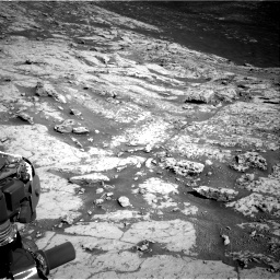 Nasa's Mars rover Curiosity acquired this image using its Right Navigation Camera on Sol 3136, at drive 768, site number 88