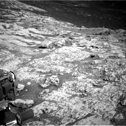 Nasa's Mars rover Curiosity acquired this image using its Right Navigation Camera on Sol 3136, at drive 774, site number 88