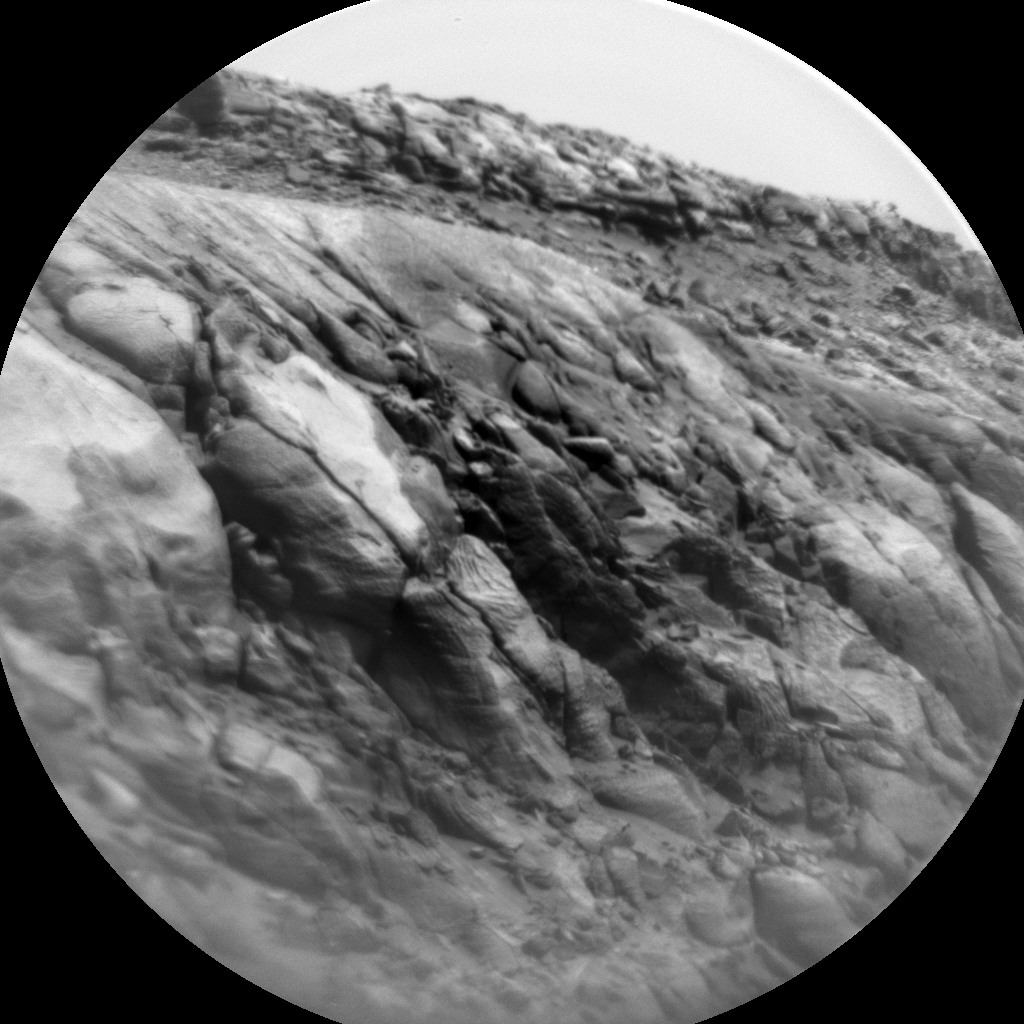 Nasa's Mars rover Curiosity acquired this image using its Chemistry & Camera (ChemCam) on Sol 3137, at drive 804, site number 88