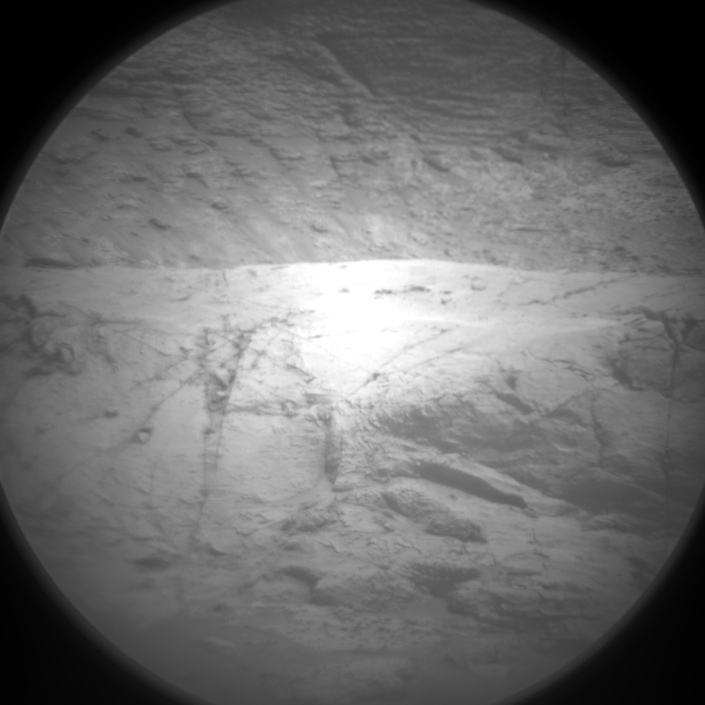 Nasa's Mars rover Curiosity acquired this image using its Chemistry & Camera (ChemCam) on Sol 3138, at drive 804, site number 88