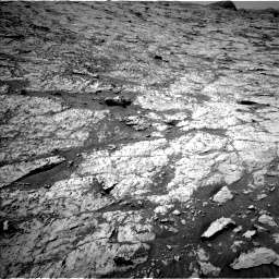 Nasa's Mars rover Curiosity acquired this image using its Left Navigation Camera on Sol 3138, at drive 864, site number 88