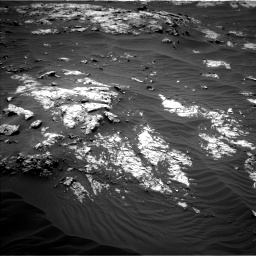 Nasa's Mars rover Curiosity acquired this image using its Left Navigation Camera on Sol 3138, at drive 1014, site number 88