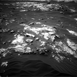 Nasa's Mars rover Curiosity acquired this image using its Left Navigation Camera on Sol 3138, at drive 1020, site number 88