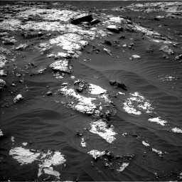 Nasa's Mars rover Curiosity acquired this image using its Left Navigation Camera on Sol 3138, at drive 1050, site number 88