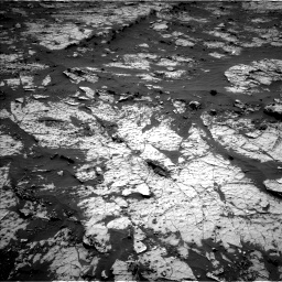 Nasa's Mars rover Curiosity acquired this image using its Left Navigation Camera on Sol 3138, at drive 1098, site number 88
