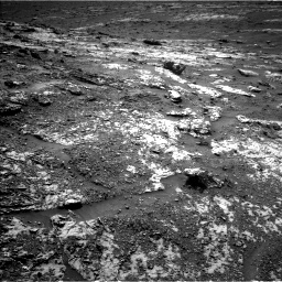 Nasa's Mars rover Curiosity acquired this image using its Left Navigation Camera on Sol 3138, at drive 1158, site number 88