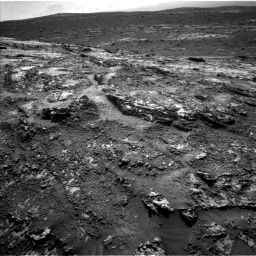 Nasa's Mars rover Curiosity acquired this image using its Left Navigation Camera on Sol 3138, at drive 1176, site number 88