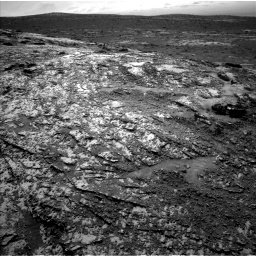 Nasa's Mars rover Curiosity acquired this image using its Left Navigation Camera on Sol 3138, at drive 1188, site number 88