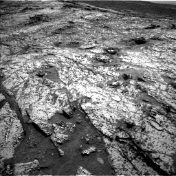 Nasa's Mars rover Curiosity acquired this image using its Left Navigation Camera on Sol 3138, at drive 1218, site number 88