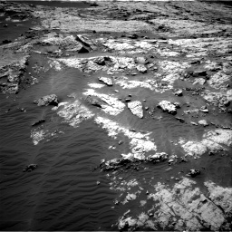 Nasa's Mars rover Curiosity acquired this image using its Right Navigation Camera on Sol 3138, at drive 954, site number 88