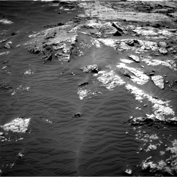Nasa's Mars rover Curiosity acquired this image using its Right Navigation Camera on Sol 3138, at drive 960, site number 88