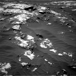 Nasa's Mars rover Curiosity acquired this image using its Right Navigation Camera on Sol 3138, at drive 1050, site number 88
