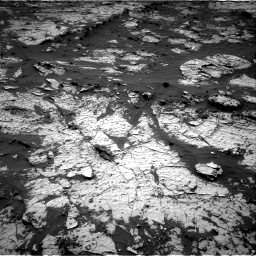Nasa's Mars rover Curiosity acquired this image using its Right Navigation Camera on Sol 3138, at drive 1098, site number 88