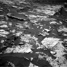 Nasa's Mars rover Curiosity acquired this image using its Right Navigation Camera on Sol 3138, at drive 1122, site number 88