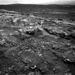 Nasa's Mars rover Curiosity acquired this image using its Right Navigation Camera on Sol 3138, at drive 1182, site number 88