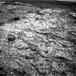 Nasa's Mars rover Curiosity acquired this image using its Right Navigation Camera on Sol 3138, at drive 1206, site number 88