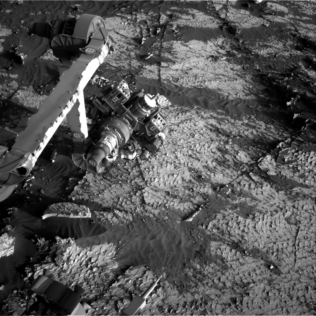 Nasa's Mars rover Curiosity acquired this image using its Right Navigation Camera on Sol 3139, at drive 1230, site number 88