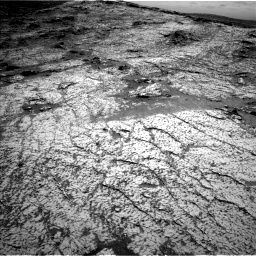 Nasa's Mars rover Curiosity acquired this image using its Left Navigation Camera on Sol 3140, at drive 1248, site number 88