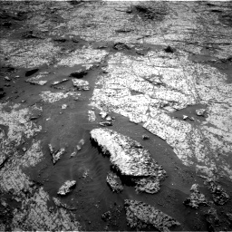Nasa's Mars rover Curiosity acquired this image using its Left Navigation Camera on Sol 3140, at drive 1284, site number 88